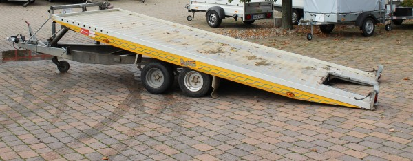 Fahrzeugtransporter -kippbar-